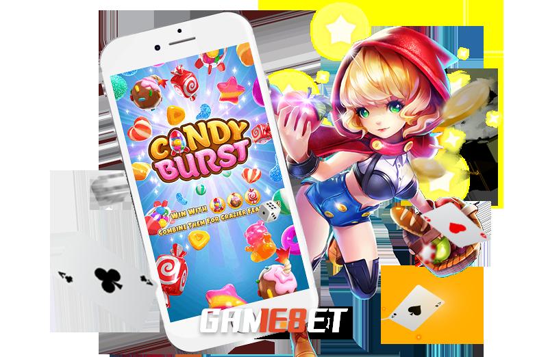 เกม Candy Burst สัญลักษณะ