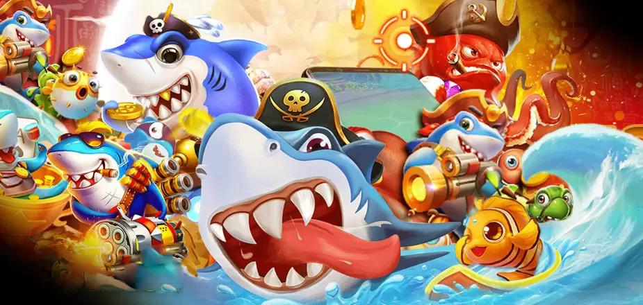 เกมยิงปลา ออนไลน์-การ์ตูนปลา